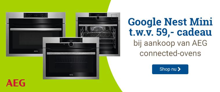 AEG Google nest mini cadeau!