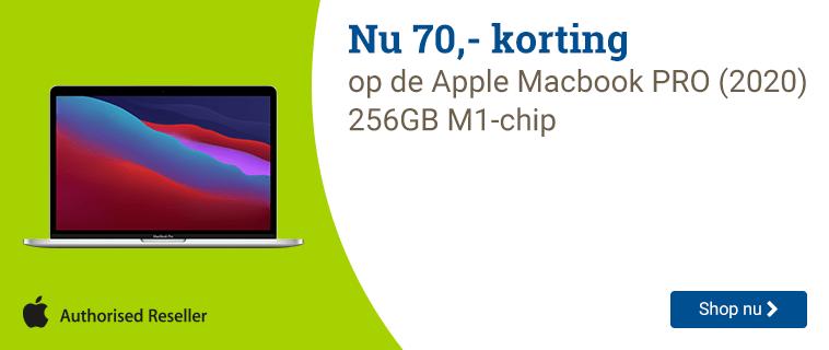 Apple Macbook Nu met 70,- voordeel!