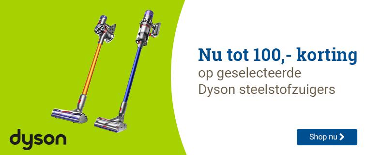 Dyson Tot 100,- korting