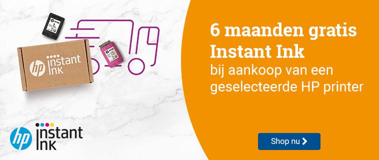 HP Instant Ink 6 maanden gratis