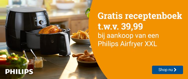 Gratis receptenboek Bij Philips Airfryer XXL