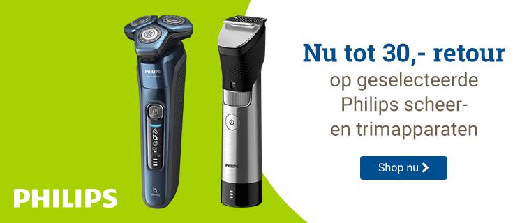 Philips Tot 30,- retour
