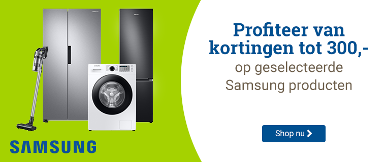 Samsung Kortingen tot 300,-
