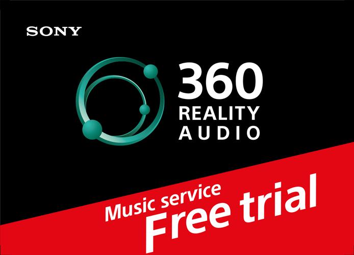 360 Reality Audio muziekservice voucher