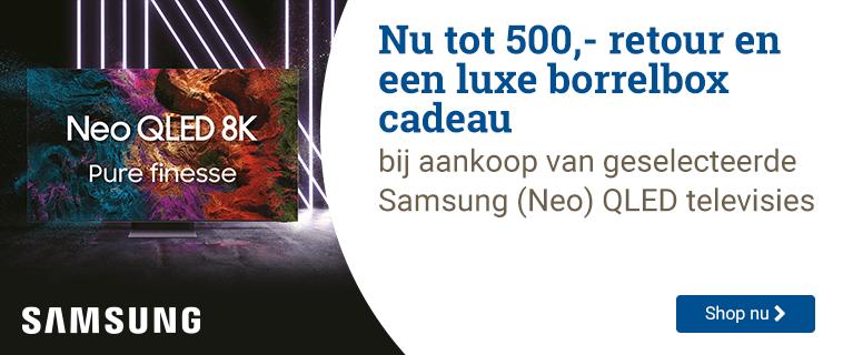Samsung Tot 500,- retour!